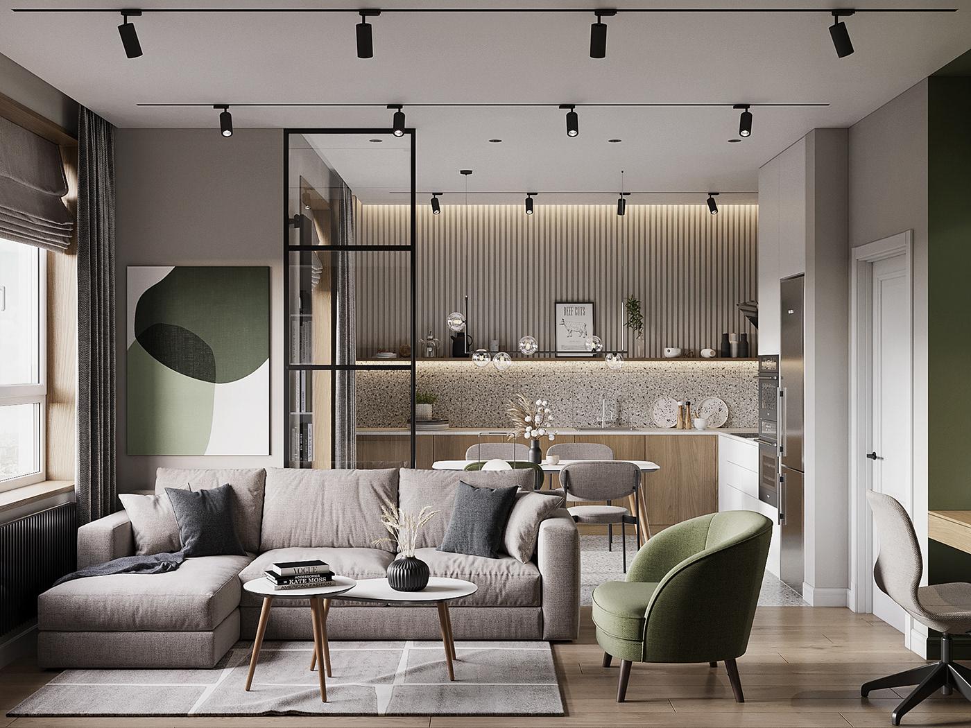cách trang trí nội thất phòng khách