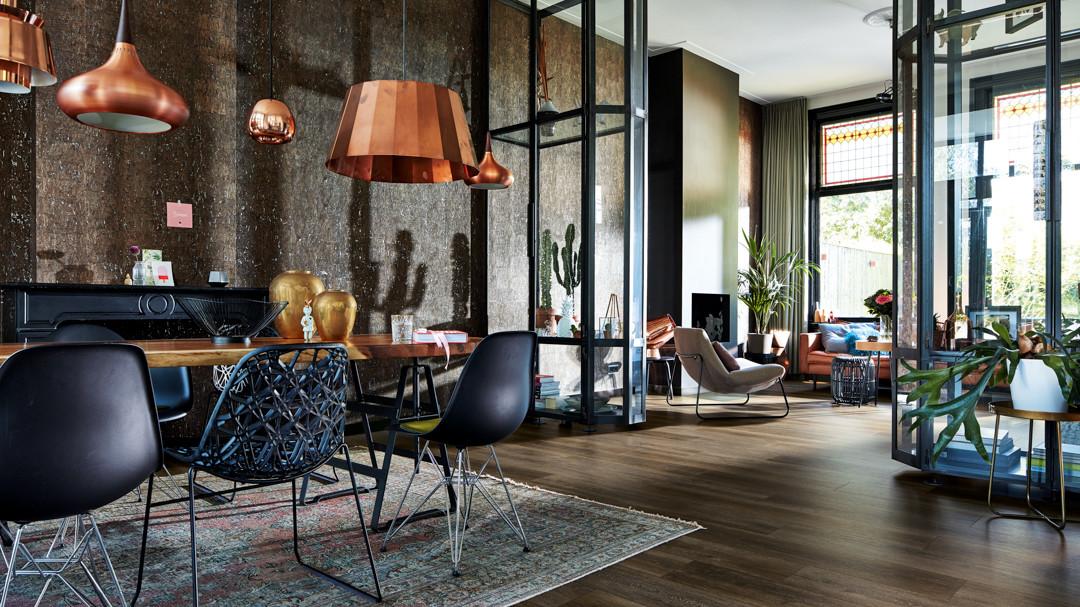 Phong cách thiết kế nội thất Metallic
